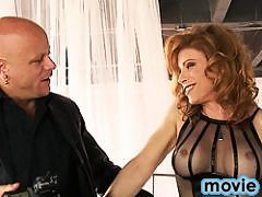 Hot TMILF Jasmine Jewels riding a fat cock