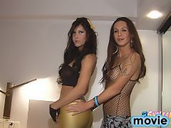 Horny Brazilian Shemales in the Ultimate SHELESBIAN Action