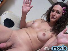 Horny Nikki spreads and masturbates