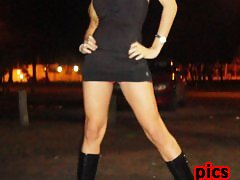 Hot Shemale ANGELES CID is a streetwalking little whore