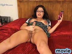 Sweet Danika pleasuring herself